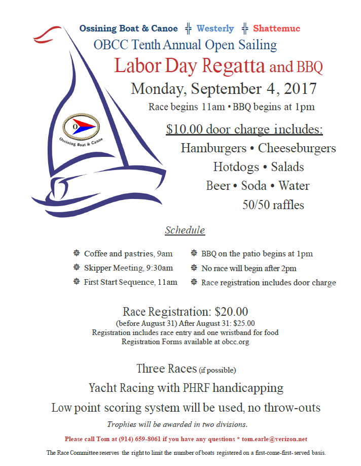 labor day regatta flyer 2017